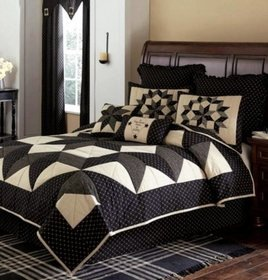 Park Designs Carrington Bedding Collection - Black
