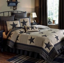 Sturbridge Patch Bedding Collection - Black