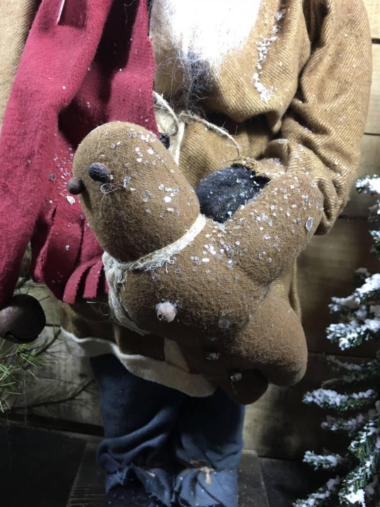 Arnett's Santa Brown/Blue Pants & Gingerbread JC5