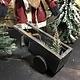 Arnett's Small Slim Santa with Cart JC20