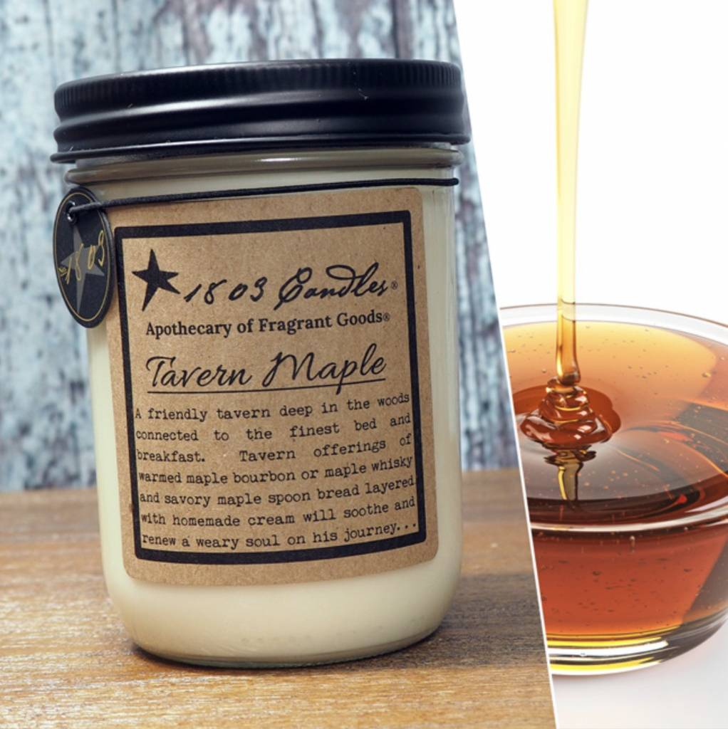 1803 Candles 1803 Candle Tavern Maple 14oz