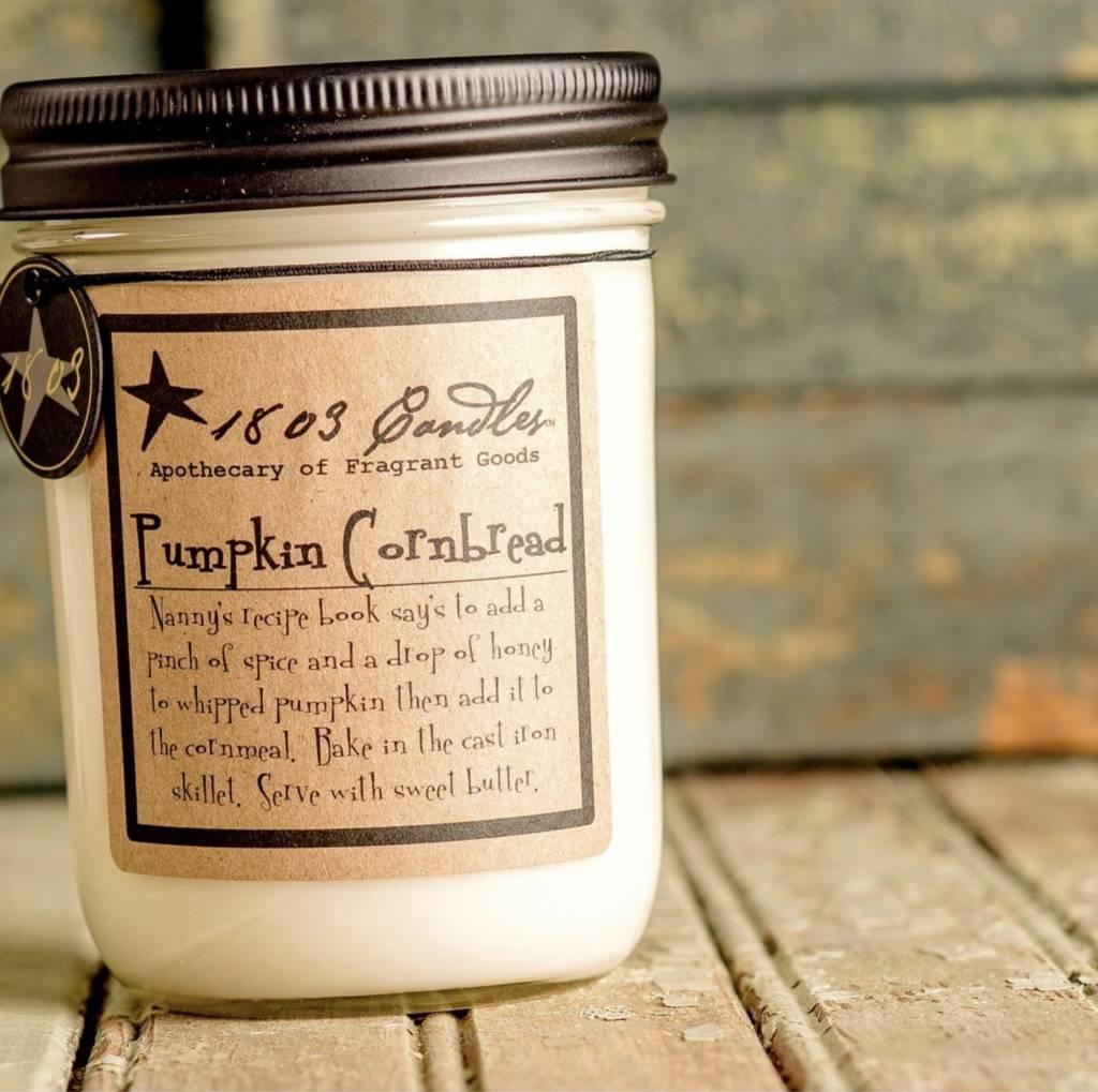 1803 Candles 1803 Candle Pumpkin Cornbread 14oz