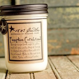 1803 Candles 1803 Pumpkin Cornbread Candle