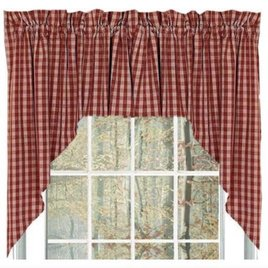 Home Collections By Raghu Heritage House Barn Red Swag