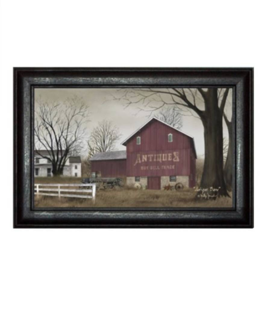 Antique Barn Print By Billy Jacobs Country Farmhouse