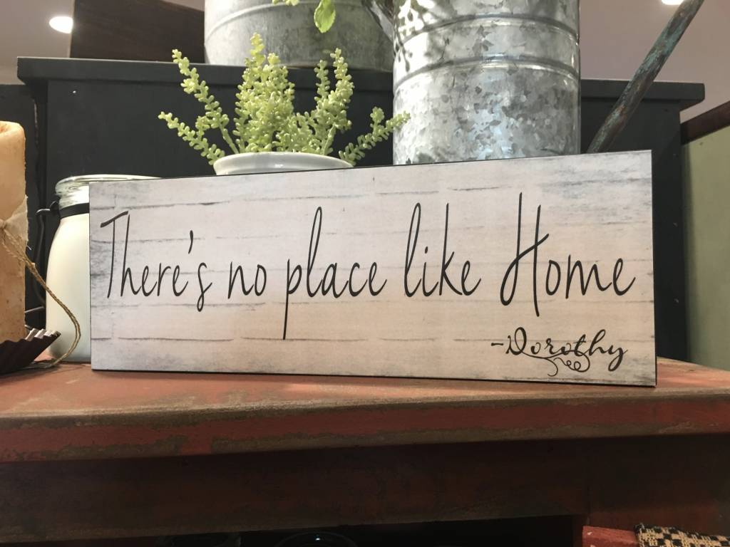 There S No Place Like Home Dorothy Block Sign Nana S