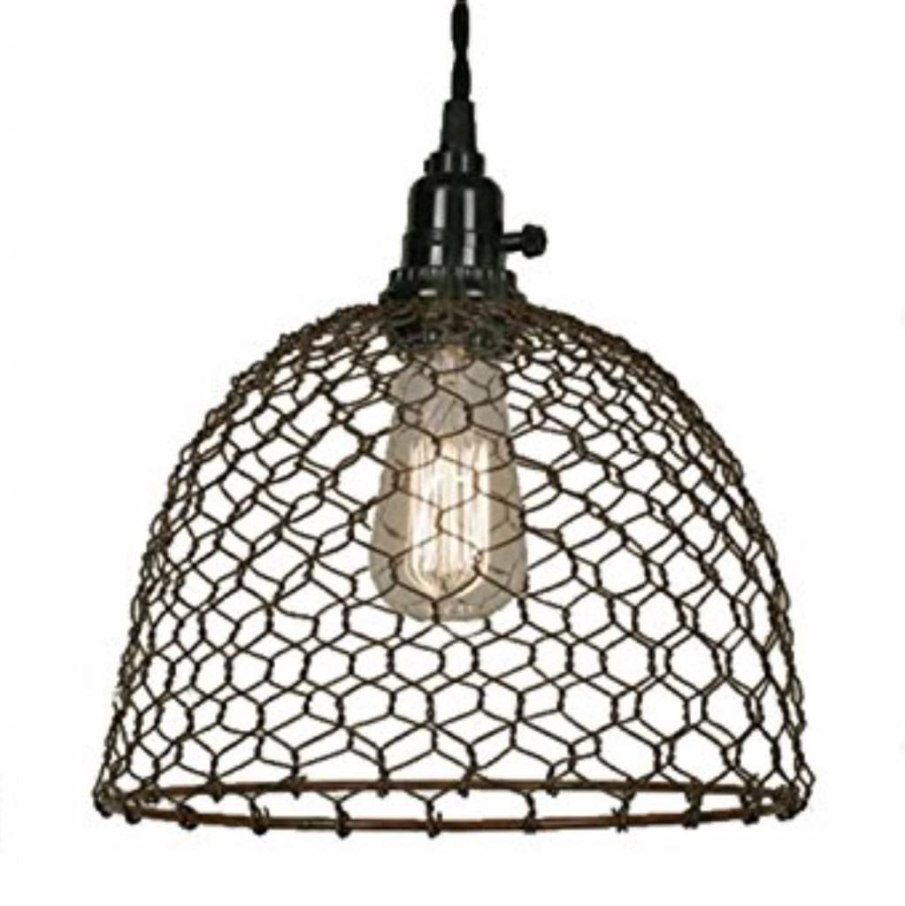 Chicken Dome Pendant | Country Lighting | Nana\'s Farmhouse - Nana\'s ...