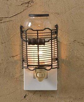 Park Designs Wire Jar Night Light