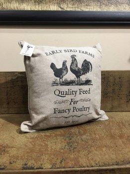 Fancy Poultry Pillow