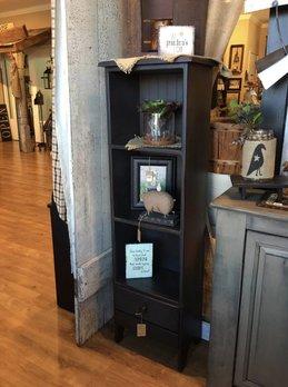 Three Shelf Bookcase With Drawer