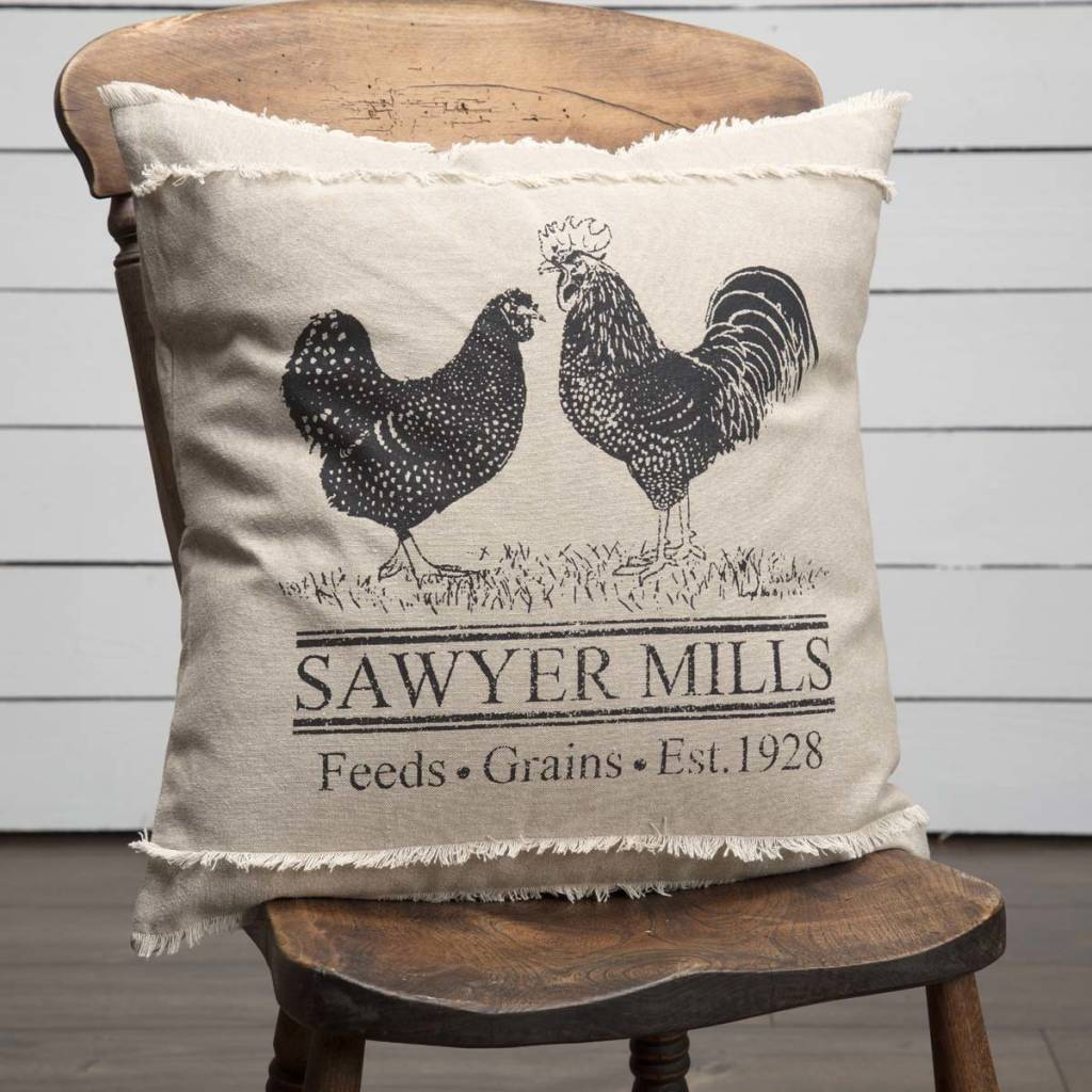 Sawyer Mill Poultryl Pillow Sawyer Mill Bedding Amp Pillow
