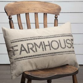 VHC Brands Sawyer Mill Farmhouse Pillow