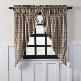VHC Brands Sawyer Mill Prairie Curtain Lined Set of 2