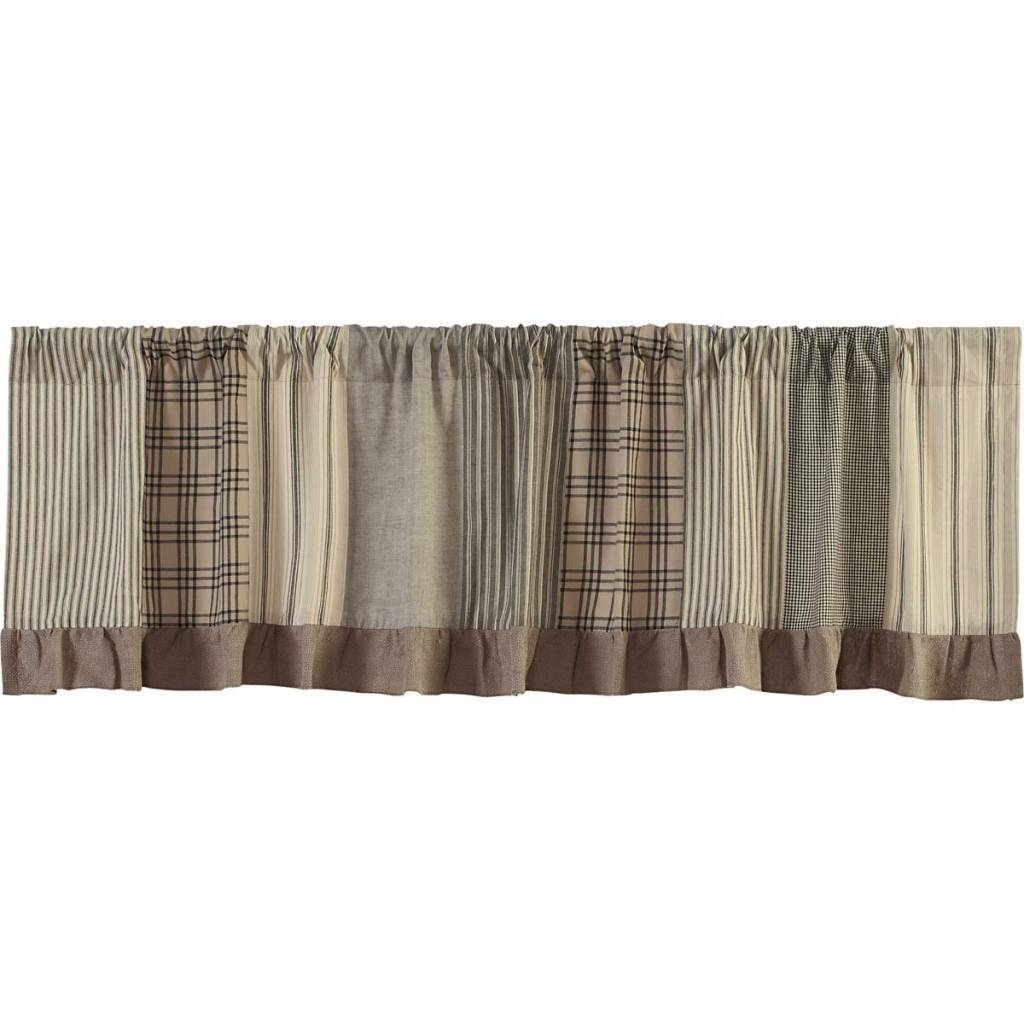 Sawyer Mill Patchwork Valance Country Farmhouse Curtains