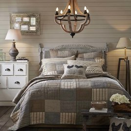 VHC Brands Sawyer Mill Bedding & Quilt Collection