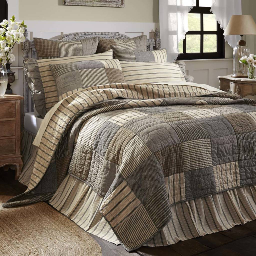 Sawyer Mill Bedding & Quilt Collection - Country Farmhouse Bedding ... : bedding quilts - Adamdwight.com