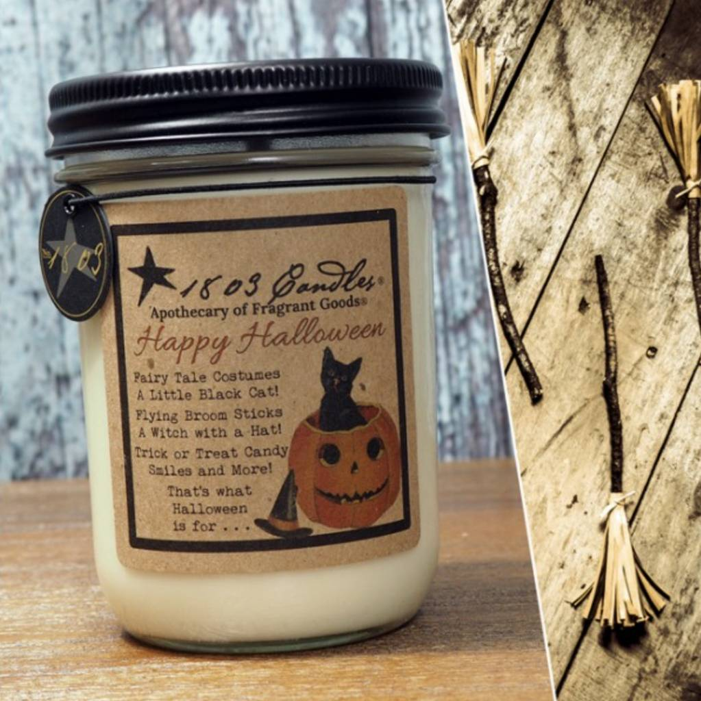 1803 Candles 1803 Candle Happy Halloween 14oz
