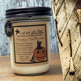 1803 Candles 1803 Happy Halloween Candle
