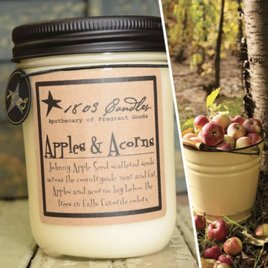 1803 Candles 1803 Apples & Acorns Candle
