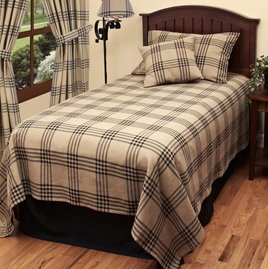 Home Collections By Raghu Chesterfield Check Bedding Collection