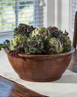 Park Designs Treenware Bracken Bowl