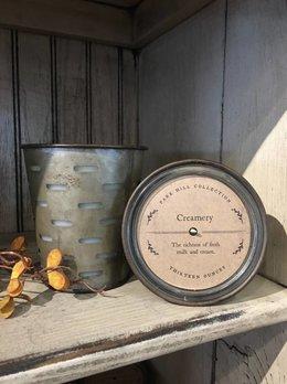Creamery Olive Bucket Candle