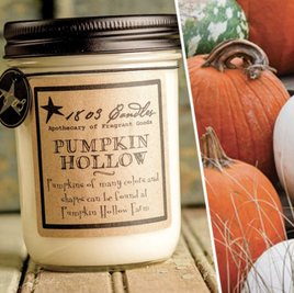 1803 Candles 1803 Pumpkin Hollow Candle