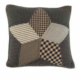 Farmhouse Star Filled Pillow Quilted