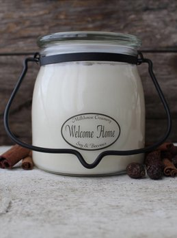 Milkhouse Candles Welcome Home 16oz Butter Jar