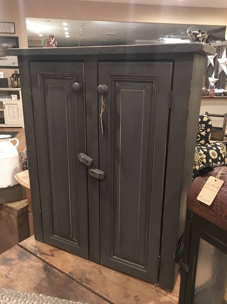 Two Door Wooden Grey Cabinet Small Storage Ideas Nanas - Small grey cupboard