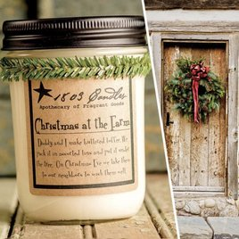 1803 Candles 1803 Christmas At The Farm Candle