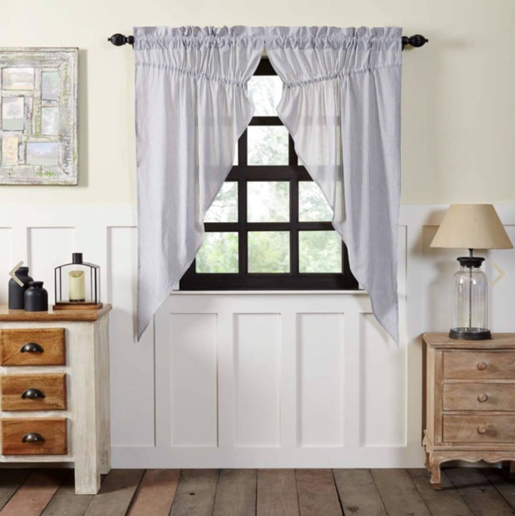 VHC Brands Cape Cod Prairie Curtain Set of 2