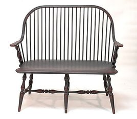 Lawrence Crouse Workshop Continuous Arm Settee