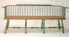 Large Low Back Bench