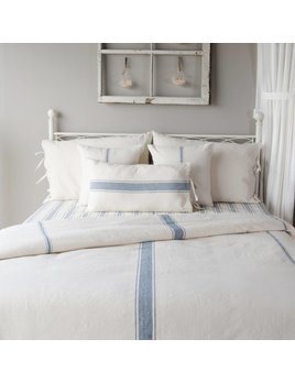 Grain Sack Solid Cream & Colonial Blue Queen Duvet Cover - Country on colonial bedroom art, colonial beds, colonial kitchen, colonial interior, colonial bedroom sets, colonial general, colonial bedroom style, colonial bedroom colors, colonial master bedroom, colonial rugs, colonial bathroom, colonial mirrors, colonial bedroom furnishings, colonial architecture,