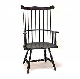 Lawrence Crouse Workshop Philadelphia Comb Back Arm Chair