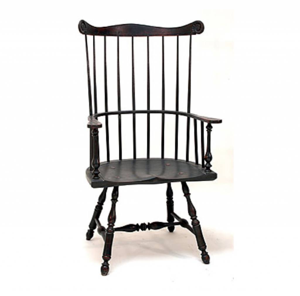 Lawrence Crouse Workshop Philadelphia Comb Back Arm Chair ...