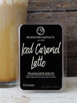 Milkhouse Candles Iced Caramel Latte 2.5oz Melt Milkhouse