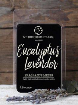 Milkhouse Candles Eucalyptus Lavender 2.5oz Melt Milkhouse