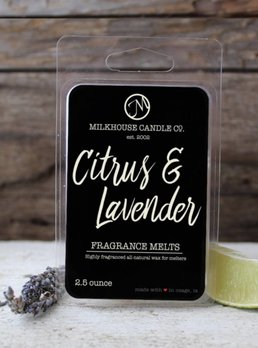 Milkhouse Candles Citrus Lavender 2.5oz Melt Milkhouse
