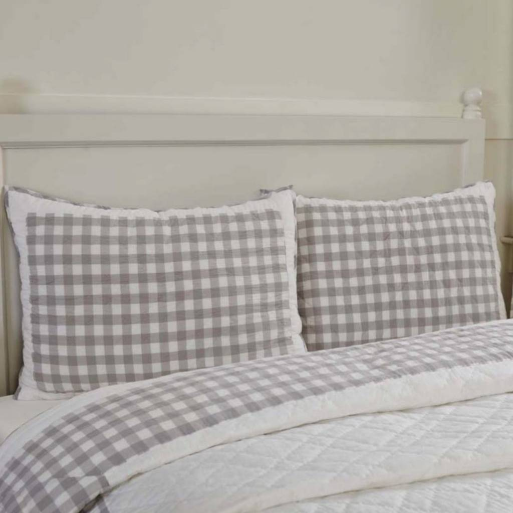 Annie Buffalo Check Pillow Shams Choose from 3 Colors
