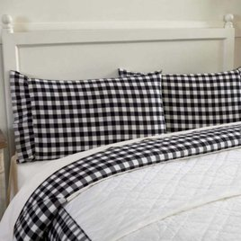 Annie Buffalo Check Pillow Cases  Set of 2