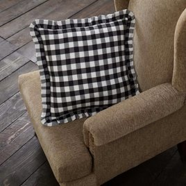VHC Brands Annie Buffalo Check Fabric Pillow