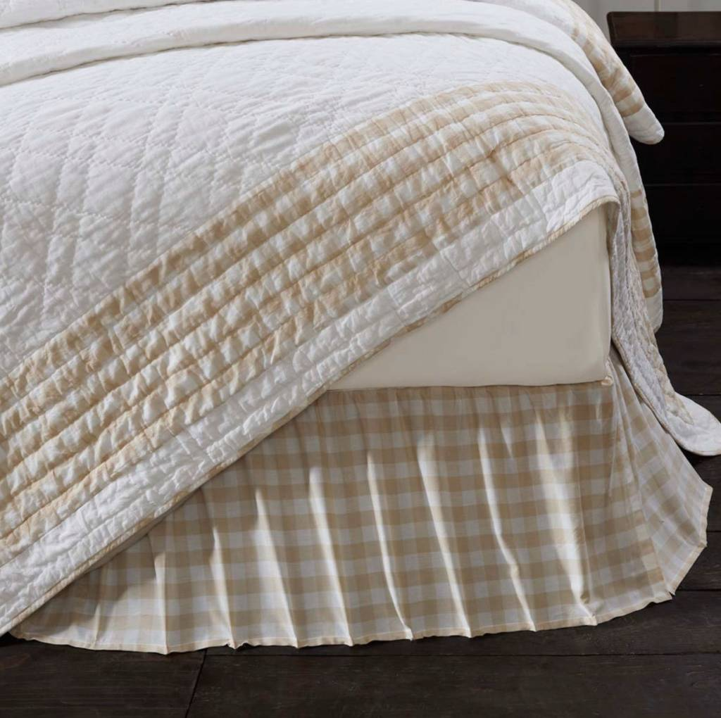 Annie Buffalo Check Bed Skirt Annie Buffalo Check
