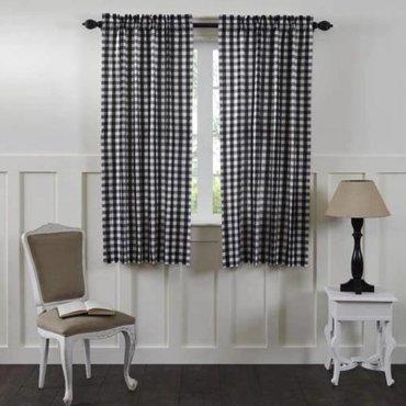 Annie Buffalo Check Curtains