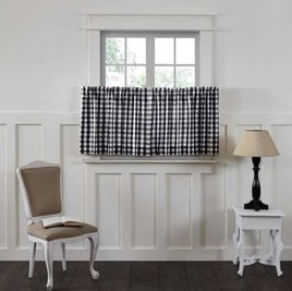 Annie Buffalo Check Lined Tiers Set of 2---  Choice of 3 colors