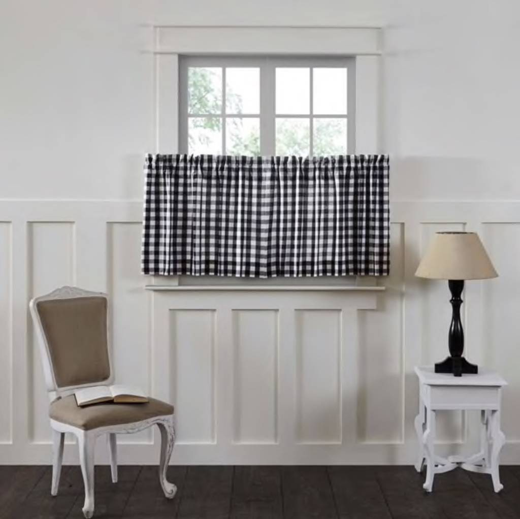 Annie Buffalo Check Lined Tiers Set Of 2 Country