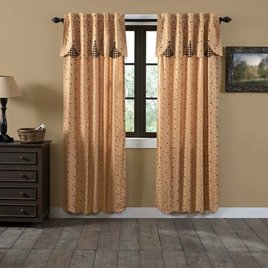 VHC Brands Maisie Lined Panel Set of 2