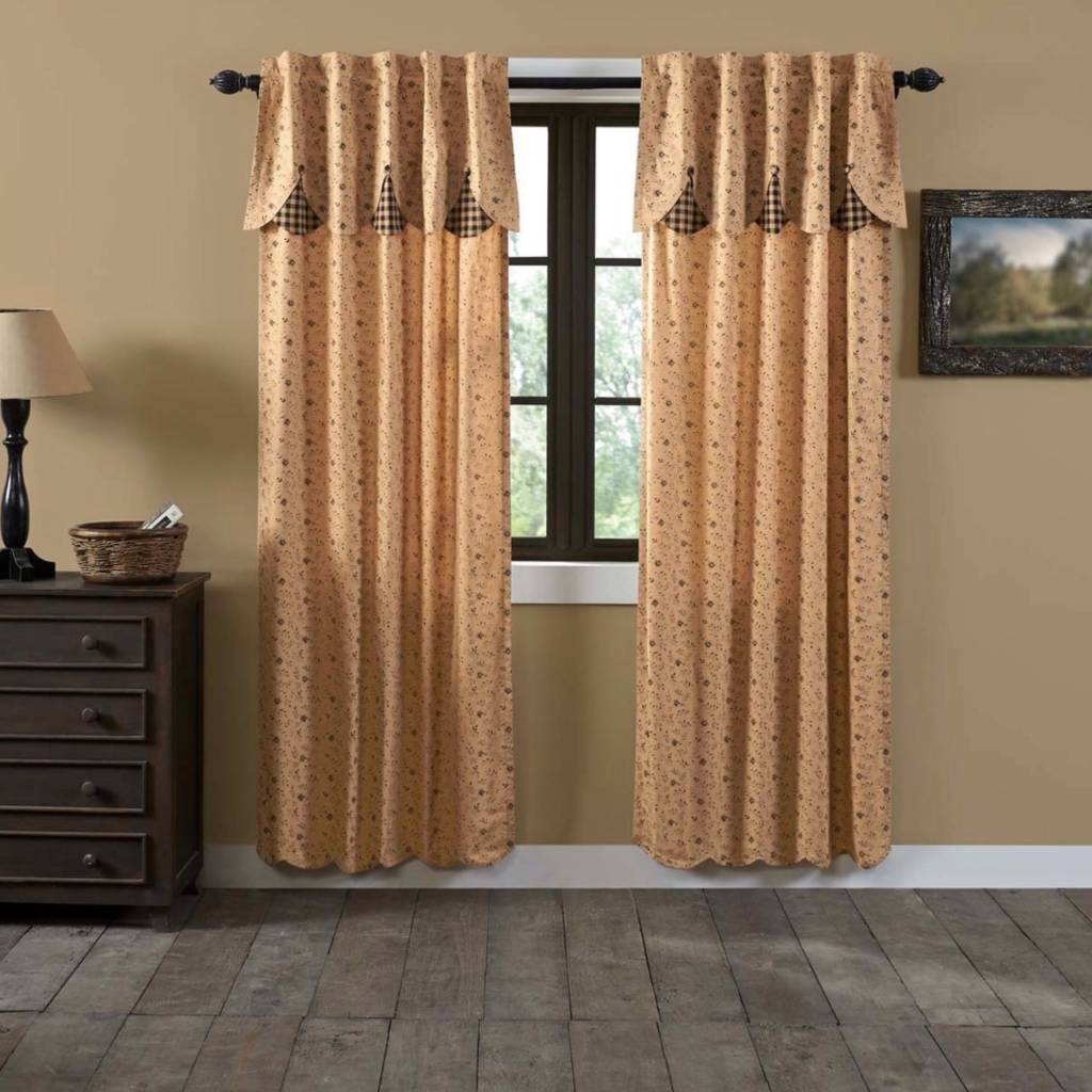 Maisie Lined Panel Set Of 2 Country Curtains Amp Bedding