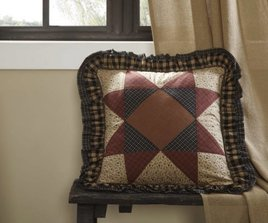 VHC Brands Maisie Patchwork Pillow